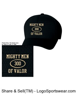 Mighty Men of Valor Cap Design Zoom