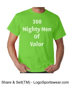 Mighty Men of Valor T-Shirt Design Zoom